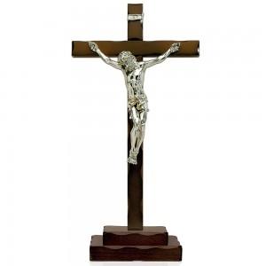 Croce in legno tinto