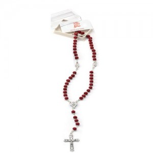 Rosary of rose petal worked with box
