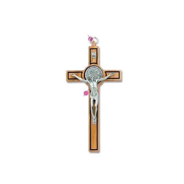 Saint Benedict cross in olive wood