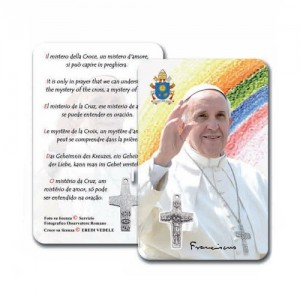 Card con Papa Francesco
