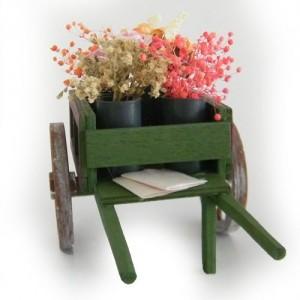 Flowers cart