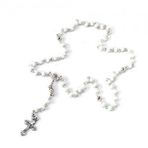 Glass Rosary of Communion