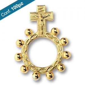 Basque ring rosary in packs of 100 pieces