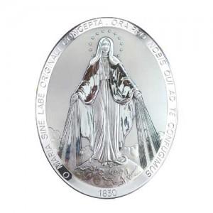 Quadro in legno Madonna Miracolosa