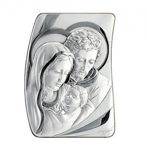Quadro argento Sacra Famiglia