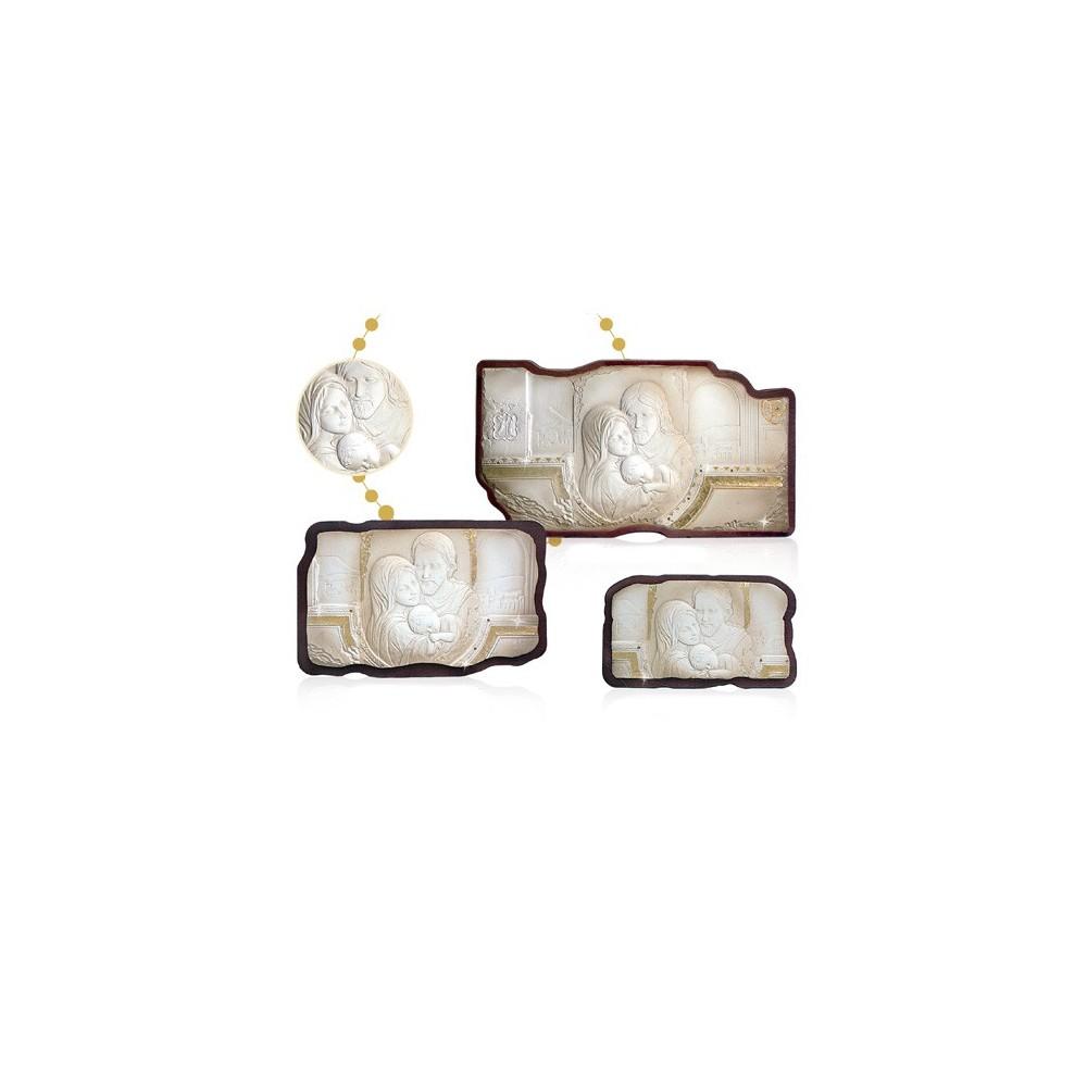 Pannello in legno e polvere alabastro
