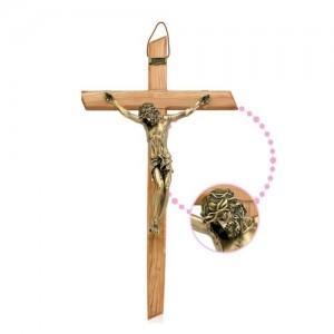 Croce in legno d'olivo