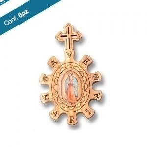 Rosario basco in ulivo Ave Maria