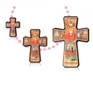 Croce della Trinità in legno