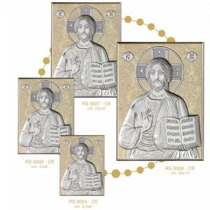 Icona Russa in Argento con fondo Oro