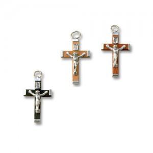 Croce in legno e matallo