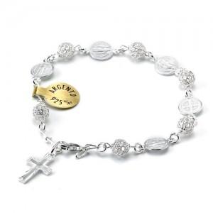 San Benedetto bracelet in silver