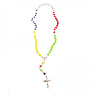 Missionary Rosary chained in 4 colors