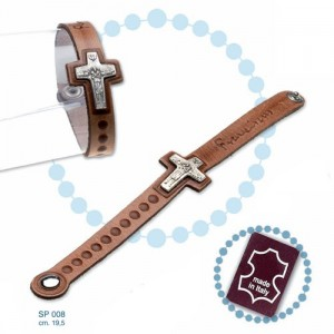 Leather bracelet Pope Francis