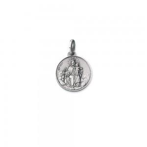 Medaglia scapolare in argento