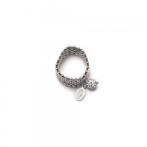 Ring in silver and Swarovski