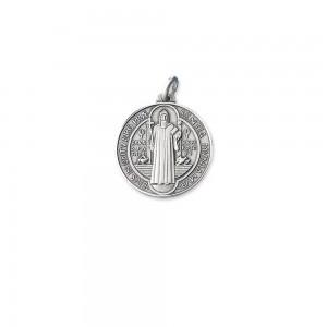 Medaglia San Benedetto in argento