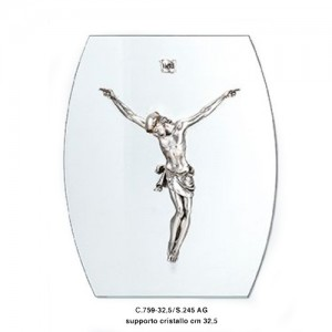 Christ Body in Silver and Crystal