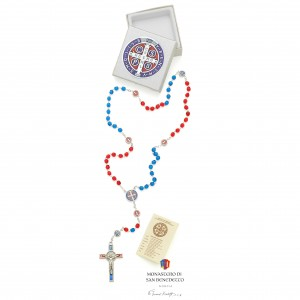San Benedetto crystal rosary