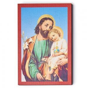 Wooden icon Saint Joseph 15x10