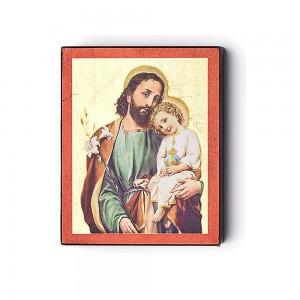 Wooden icon Saint Joseph 9,9x8