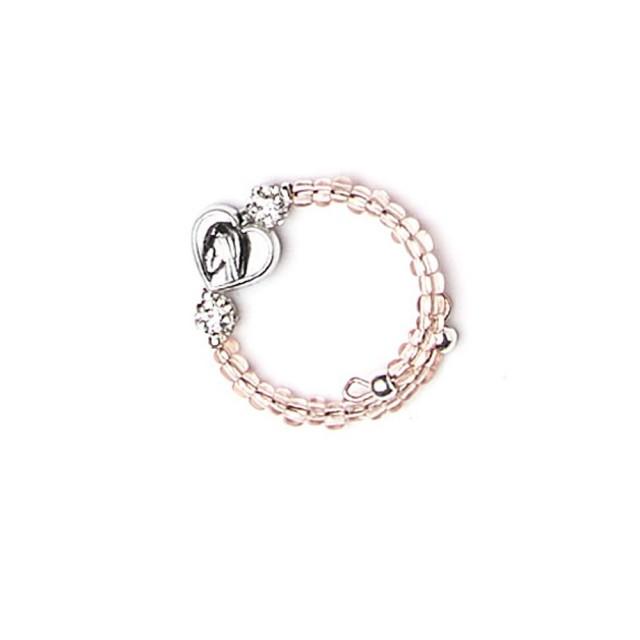 Adjustable glass ring