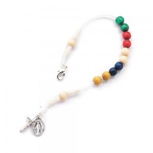 Bracelet bound in missionary wood