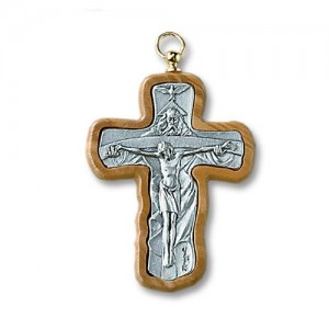 Croce in metallo ossidato SS. Trinità