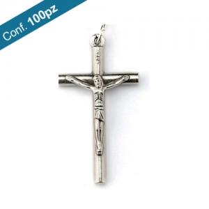 Croce tondino metallo ossidato in confezioni da 100 pezzi