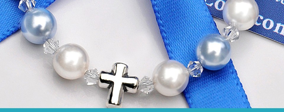 BRACELETS, ROSARIES, NECKLACES AND PENDANTS