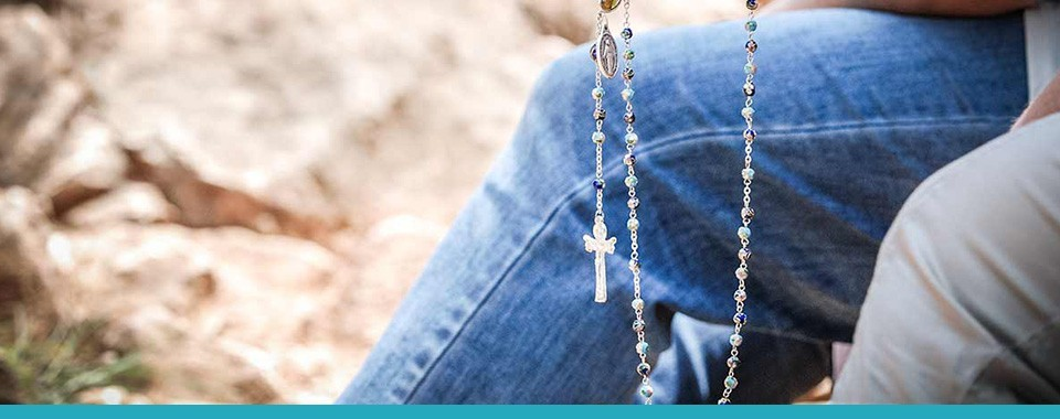 ROSARY BEADS AND ROSARY CASES