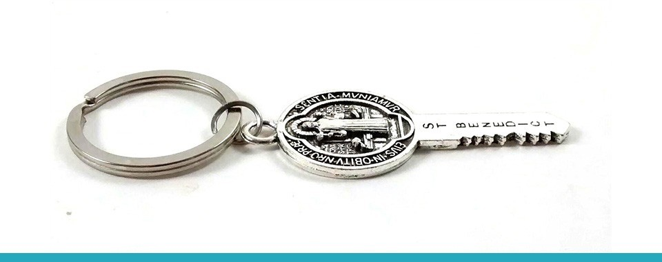 KEY RINGS OF SAINT BENEDICT