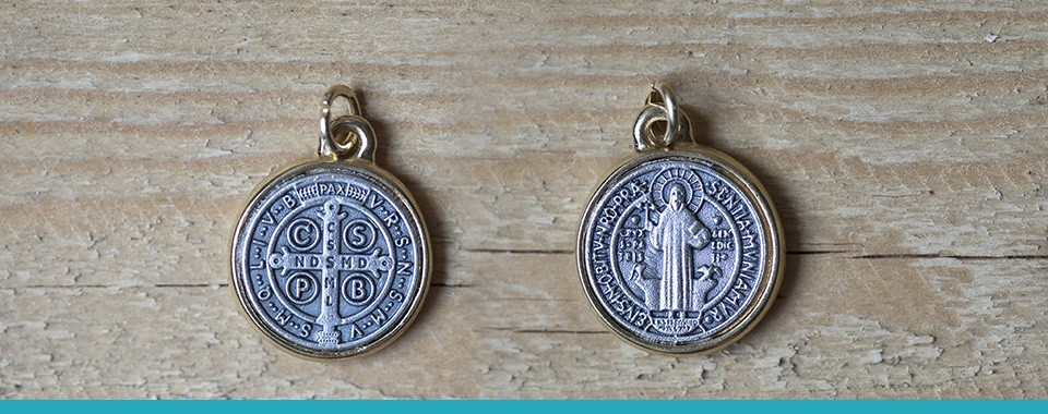 MEDALS AND RINGS OF SAINT BENEDICT