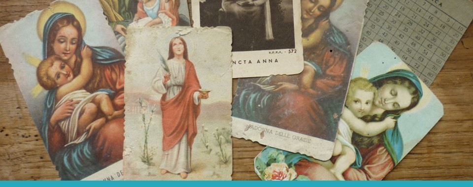 GREETING CARDS AND HOLY CARDS